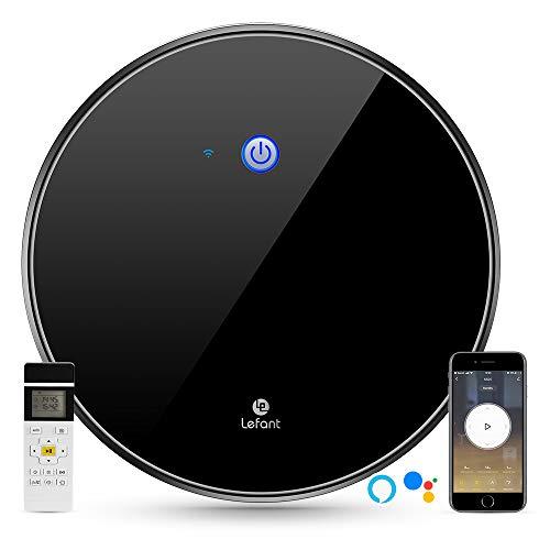 Aspirapolvere Robot Lefant M520, aspirazione 1800Pa, controllo WiFi, funziona con Alexa e Google,...