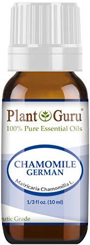 Chamomile Blue (German) Essential Oil. 10 ml. 100% Pure, Undiluted, Therapeutic Grade. UNCUT DARK BLUE by Plant Guru par  Plant Guru