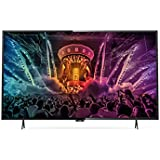 Philips 6000 series Téléviseur LED Smart TV ultra-plat 4K - écrans LED (IEC, 4K Ultra HD, A+, 16:9, Noir, 3840 x 2160 pixels)
