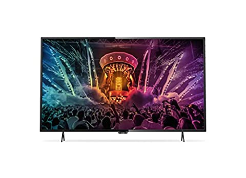 Philips 49PUS6101/12 123 cm (49 Zoll) Ultraflacher 4K Smart LED-Fernseher mit Pixel Precise (Ultra HD)
