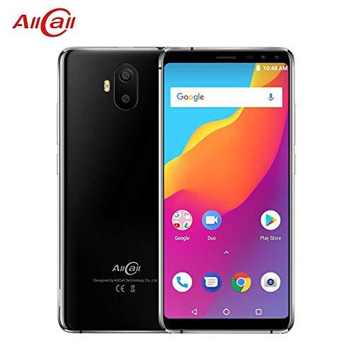 Oshide AllCall S1 3G Smartphone 5.5inch 18: 9 5000mAh batería Android 8.1 MTK6580A Quad Core 2GB RAM + 16GB ROM 8MP + 2MP cámaras teléfono Celular móvil