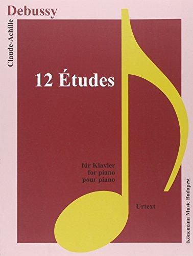 Partition - Debussy - 12 Etudes - pour piano