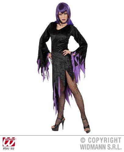 Dark Mistress Frauen Kostüm Halloween (Large, lila)