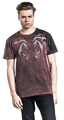 Outer Vision Terrestrial Demon T-Shirt bordeaux Bordeaux