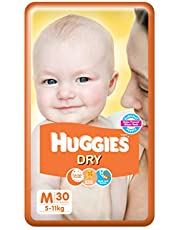Huggies New Dry Medium Size Diapers, 30 Count