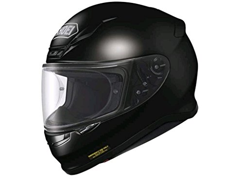 Shoei NXR Plain - Integralhelm, Farbe schwarz, Größe M (57/58)