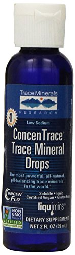 Trace Minerals Research Concentrace Trace Mineral Drops - 2 Ounce