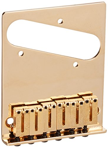 FENDER 099 0807 200 AMERICAN SERIES TELECASTER®  6 SADDLE BRIDGE ASSEMBLY  GOLD