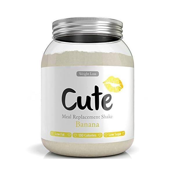 Cute Nutrition Shake alla Banana Sostitutivi del Pasto per la Perdita e Controllo di Peso Bevanda Dietetica Dimagranti… 1 spesavip