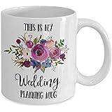 Wedding Planning Mug, Planning Mug, Bride To Be, Engagement Mug, Bride Mug, Engaged Mug, Wedding Gift, Bridal Shower Gift, Wedding Planner