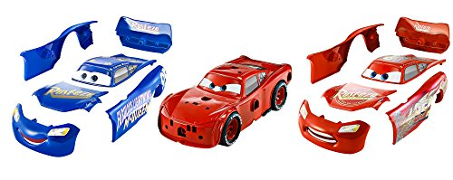 Mattel Disney Cars FCV95 - Disney Cars 3 3-in-1 Rennfahrzeug Lightning McQueen