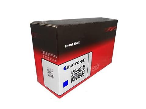 Kompatibler Print Cartidge Eurotone Toner CYAN remanufactured Replacement for HP Color LaserJet 3000 3000N 3000DN 3000DTN + 2700 2700N - 2700 3000 N DN DTN – Alternative replaces Q7561A