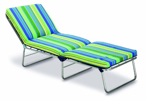 Best Nizza 33450085 Spring-Loaded Lounger 3-Leg