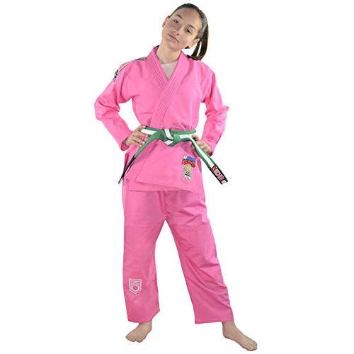 inder BJJ Gi Brazilian Jiu Jitsu Rosa M0 ()