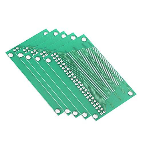 ZCHXD LCM TFT LCD LTFT 46 PIN Multi-Pitch PCB Test Board 5pcs 7 Pin Einheiten