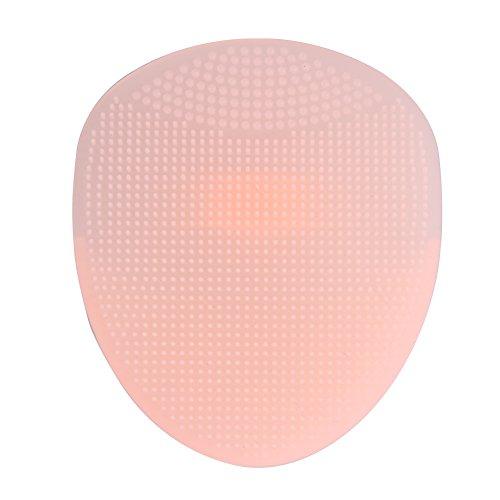 Reixus(TM) Facial Cleanser 1pc Exfoliating Pinsel S?uglings-Baby-weiche Silikon-Wash Gesichtsreinigung Pad Haut SPA scheuern Werkzeug [Rosa] (Baby Cleanser)