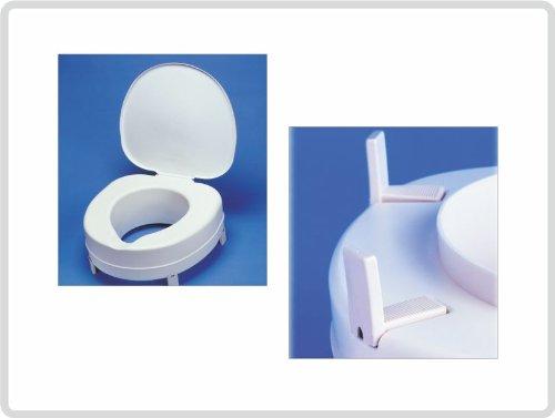 Toilettensitzerhöher Toilettensitz Plus 13cm, mit Deckel!