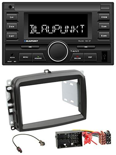 caraudio24 Blaupunkt Palma 190 BT MP3 USB 2DIN Bluetooth AUX Autoradio für FIAT 500 L (ab 2012)