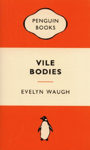 Book cover for Vile Bodies