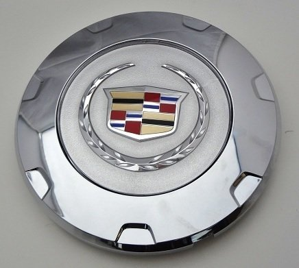 factory-cadillac-escalade-22-colored-wreath-and-crest-center-caps-1-single-cap-by-cadillac