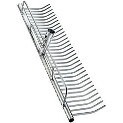 Connex FLOR50070 Tête de râteau en acier galvanisé 700 mm