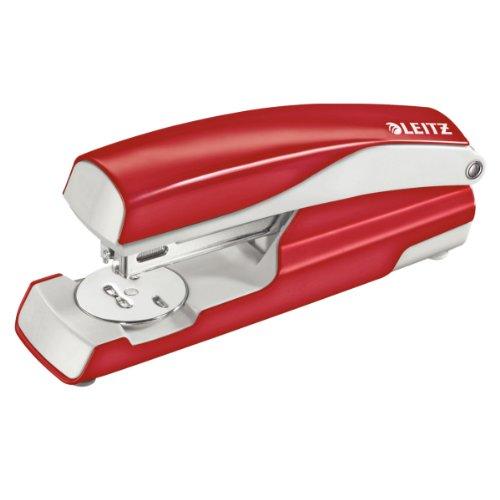 leitz-55020025-heftgerat-30-blatt-ergonomisches-metallgehause-inkl-heftklammern-nexxt-rot