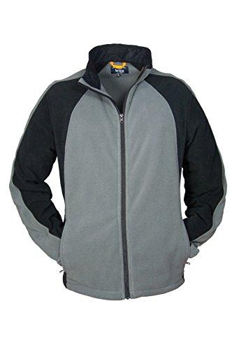 Michaelax-Fashion-Trade - Blouson - Blouson - Uni - Manches Longues - Homme Asphalt/Black(863)