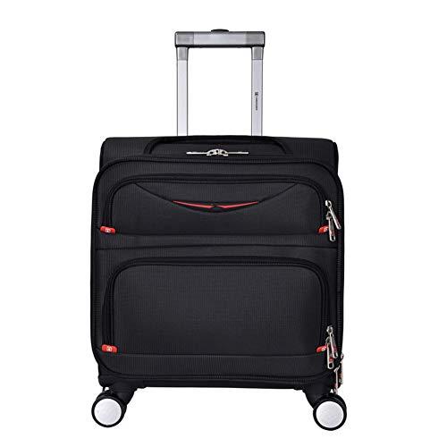 CDZNIU Business Trolley, Leichter, wasserdichter, rollender Laptop-Koffer aus Polyester für Geschäftsreisebürogepäck/Boarding/Gepäcktrolley -