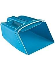 Ecope plastique flottante, 190X135mm, couleur bleue.