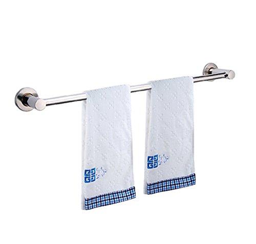 60cm Handtuchhalter Handtuchstange Badetuchhalter Badetuchstange aus Edelstahl (1 Stange)