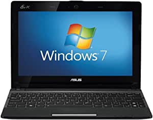 ASUS Eee PC X101CH 10.1 inch Netbook - Black (Intel Atom N2600 1.6GHz, 1GB RAM, 320GB HDD, LAN, WLAN, Webcam, Windows 7 Starter)