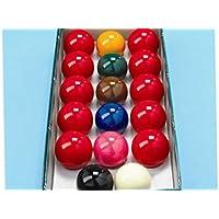 Aramith - Juego de bolas de billar (17 unidades, 4,76cm)