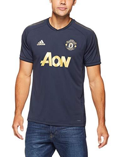 adidas Manchester United FC EU - Maglietta a Maniche Corte da Ragazzo, Ragazzo, CW7568, Night Navy, XXL