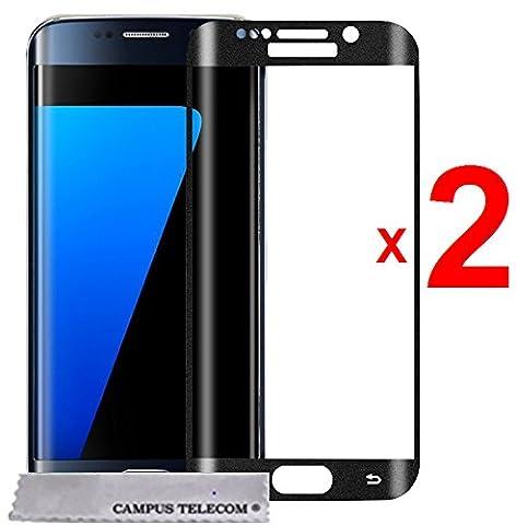 2 Films Vitre Verre Trempé de protection écran Samsung Galaxy