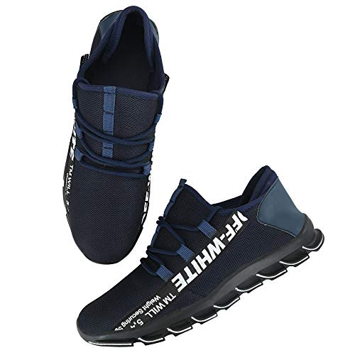 LOOK TWICE Men's Navy_Blue 3038 Casual Sneakers Shoes_9