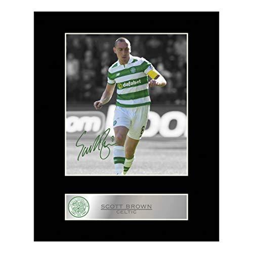 Scott braun Signiert Foto Display Celtic FC