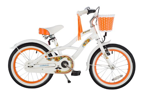 bikestar-406cm-16-pulgadas-Bicicleta-para-nios-Cruiser-Blanco