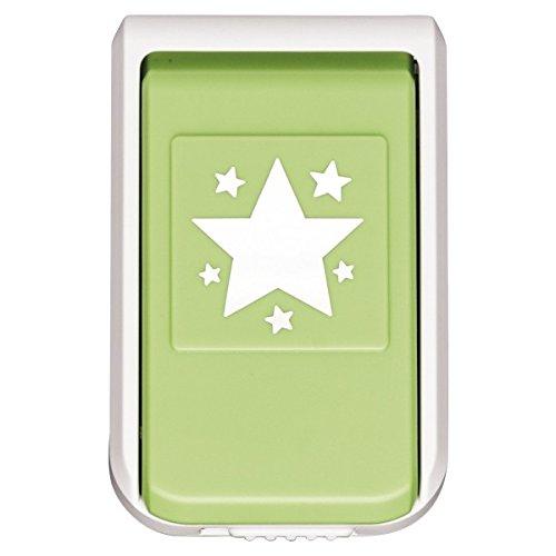 Stanzer, Sternenhimmel, Motivgröße: Ø 4cm | Motiv-Locher für Papier | Karten & Aufleger basteln | Weihnachtskarten & Deko für Weihnachten, Advent, Sterne | Scrapbooking, DIY, basteln