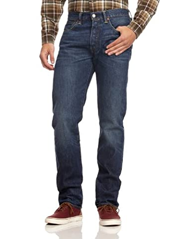 Levi's Herren Jeans 501 Original Fit, Blau, 36W / 30L