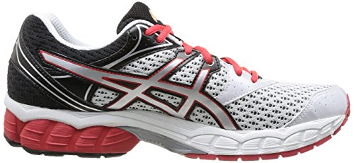 Asics Gel-Pulse 6, Chaussures de trail homme Blanc (0193-White/Silver/Red)