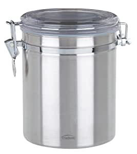 Trudeau corporation 0871802 52 oz stainless steel canister for Accessoires cuisine trudeau