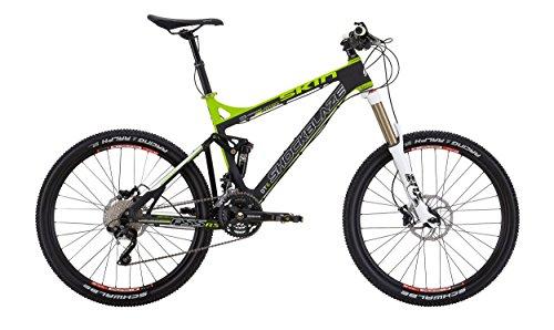 Shockblaze BK13SB1622 Skin Race Mountain Bike, Nero