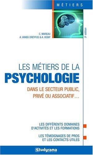 Les métiers de la psychologie