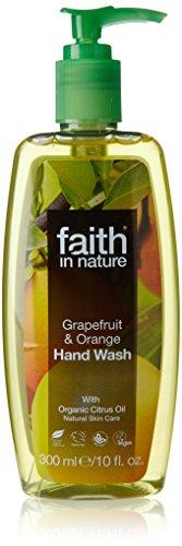 Faith in Nature Organic Grapefruit and Orange Hand Wash 300 ml