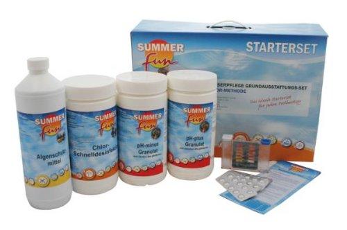Summer Fun 502010752 Wasserpflege-Grundausstattungsset Chlor/Maxipack, 5.4 kg