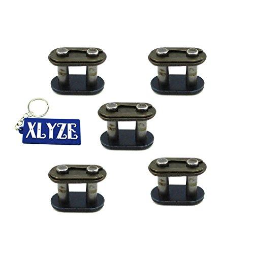 xlyze T8F Chain Spare Master Links 5pc für 47cc 49cc Mini Moto ATV Quad Dirt Super Pocket Bike