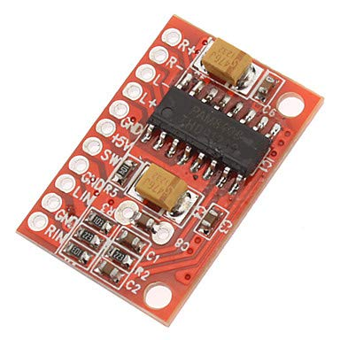 Für Arduino-Kits 3W High Power Mini-Digitalverstärkerplatine mit 2-Kanal -