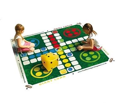 Traditional Garden Games - Tapis de jeu géant