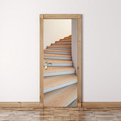 creative-3d-escaleras-de-papel-pintado-puerta-desprendible-de-la-pared-auto-adhesive-door-mural-art-