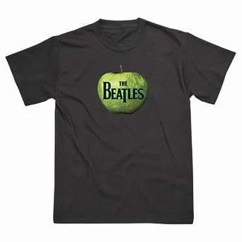 Spike Herren T-Shirt The Beatles Apfel, schwarz, Gr. XXL